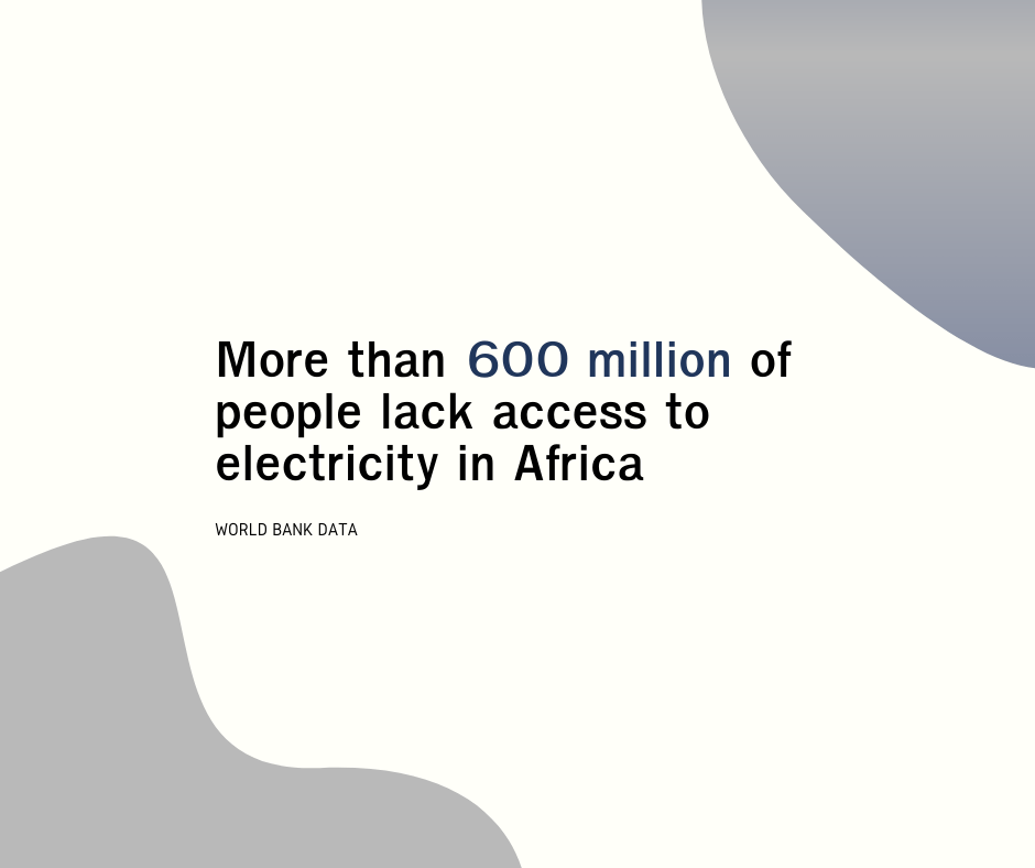 More than 600 million of people lack access to electricity in Africa - DizzitUp
